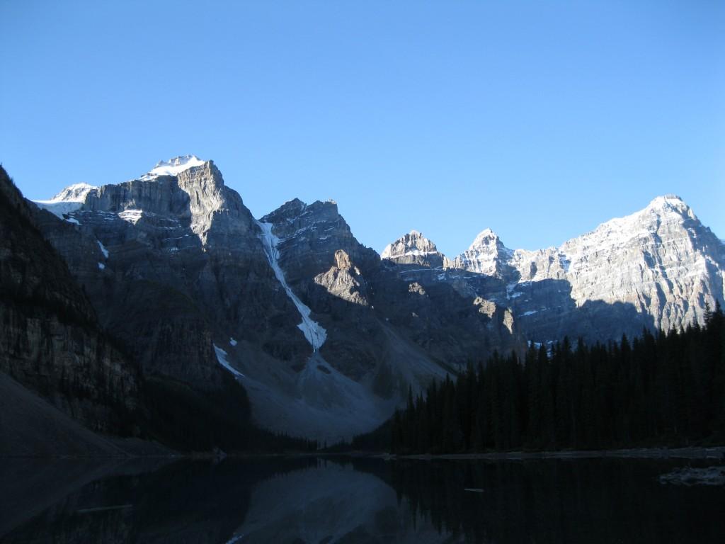 Valley of the Ten Peaks at Moraine Lake