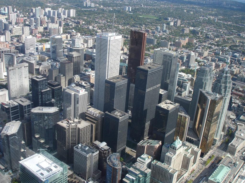 Toronto Skyline for the SkyPod