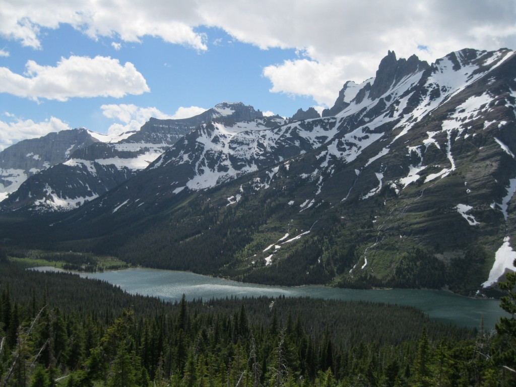 View of Elizabeth Lake from Red Gap Pass