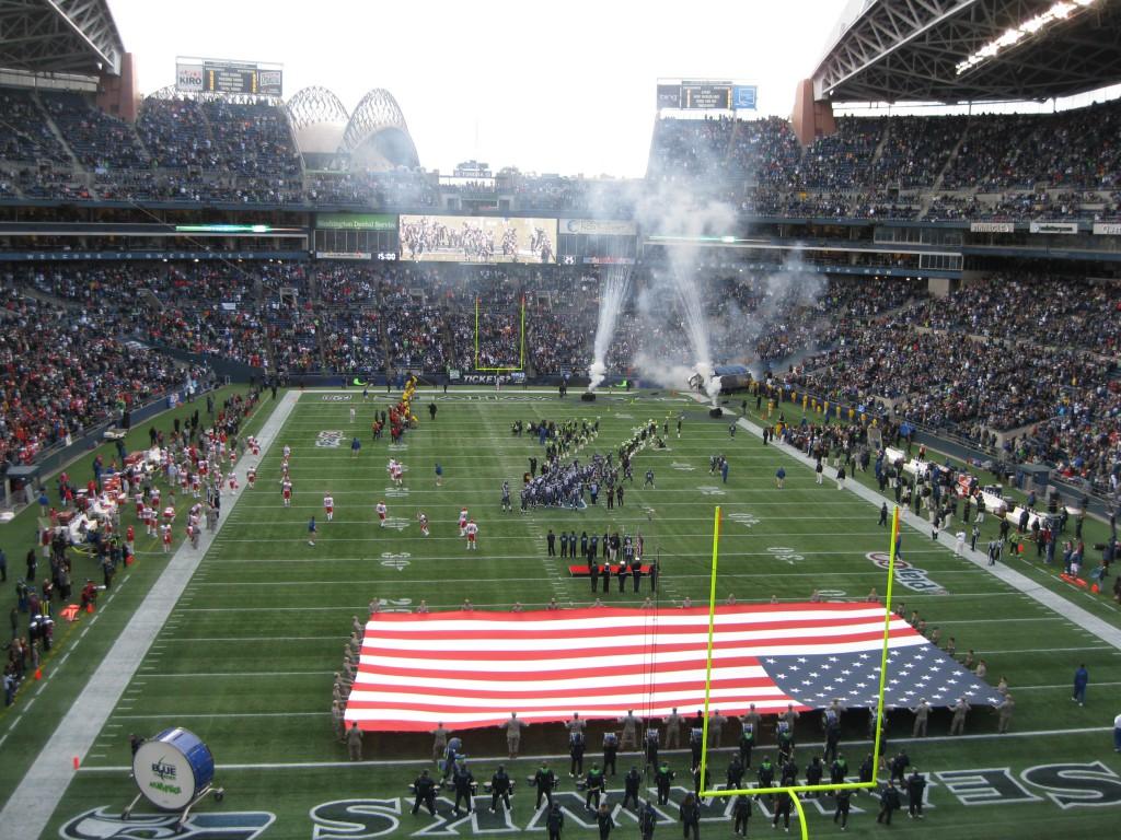 Seattle Seahawks vs Kansas City Chiefs at CenturyLink Field
