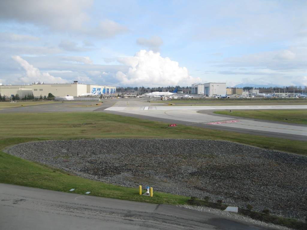 The Boeing Factory in Everett