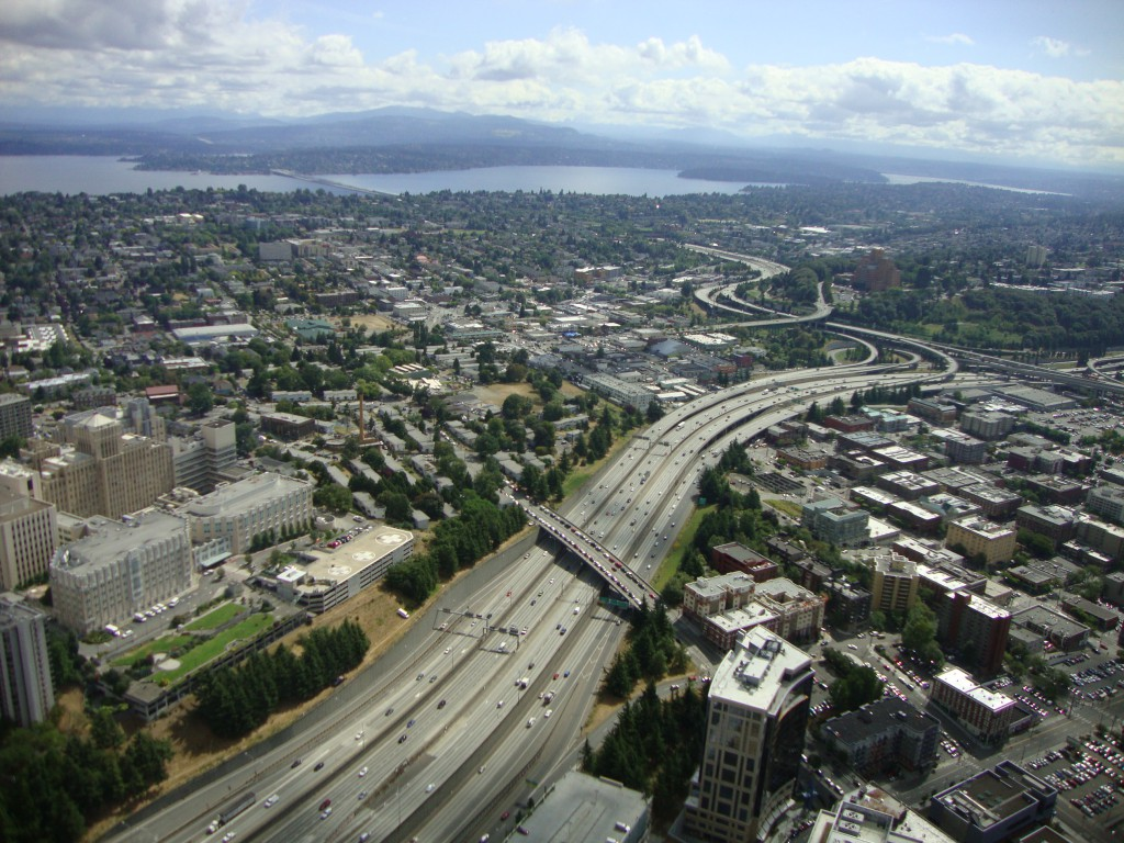 View from the Columbia Center