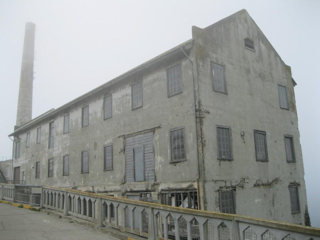 Quartermaster on Alcatraz Island
