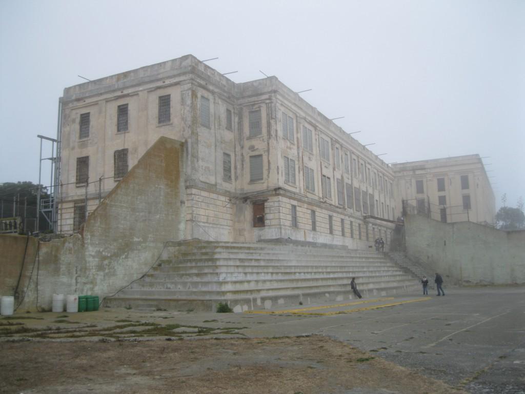 The Recreation Area at Alcatraz