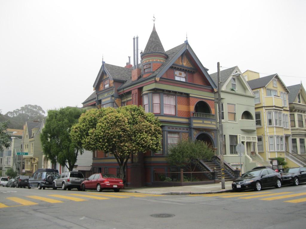 Painted Ladies - Victorian Buildings in Haight-Ashbury
