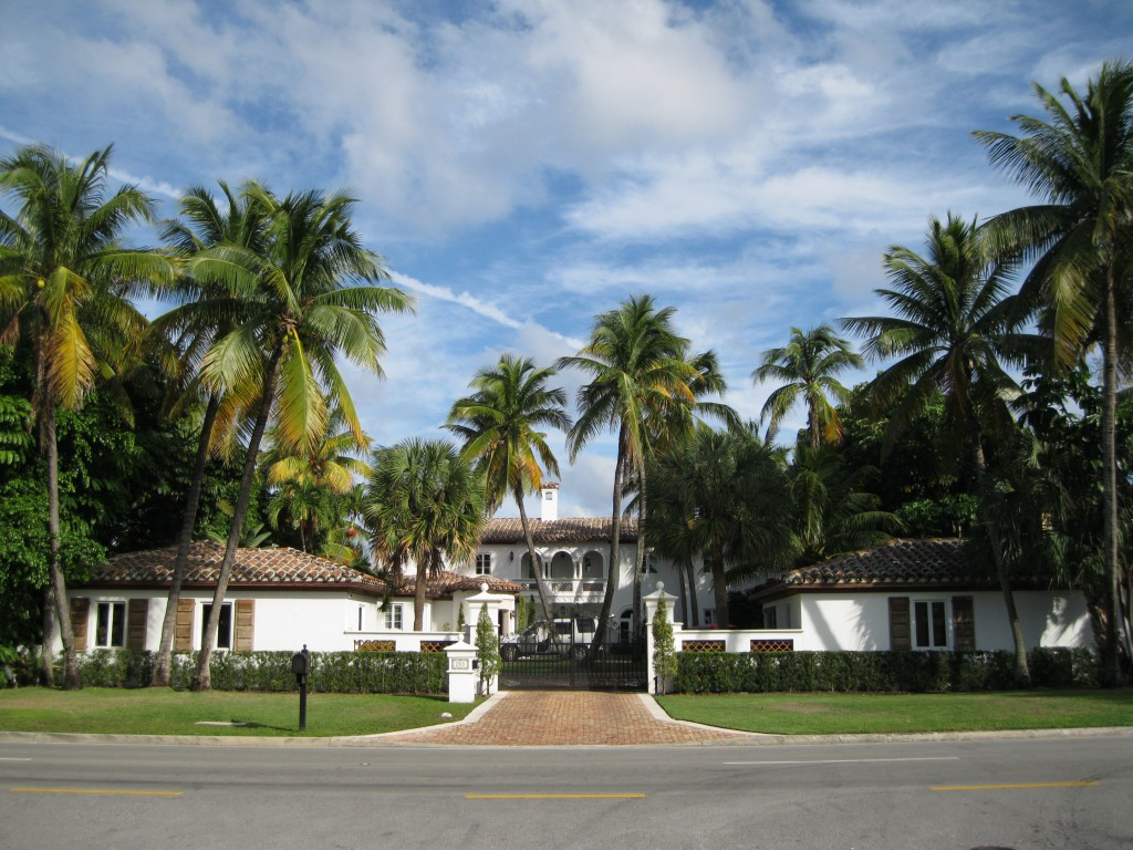 Mansion at the Town of Golden Beach
