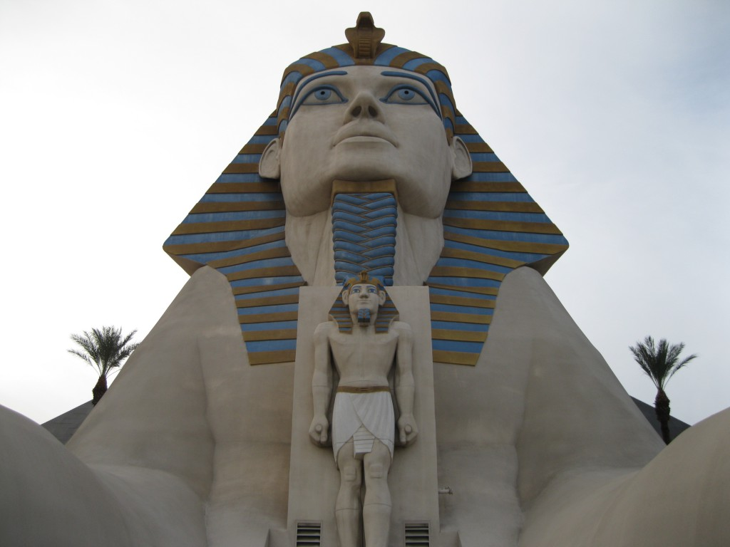 The Great Sphinx of Giza at the Luxor Las Vegas