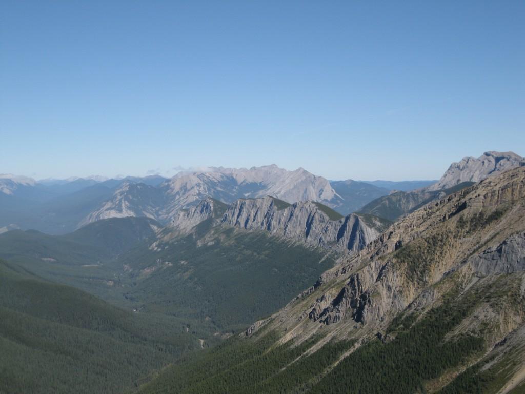 View of Ashlar Ridge from  the Summit of Sulphur Ridge