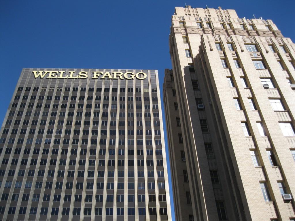 The Wells Fargo Plaza & the O.T. Bassett Tower