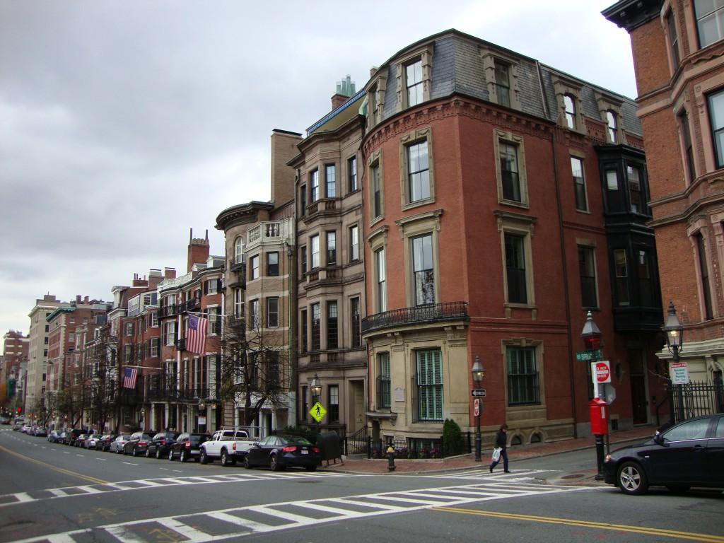 Beacon Street on Beacon Hill