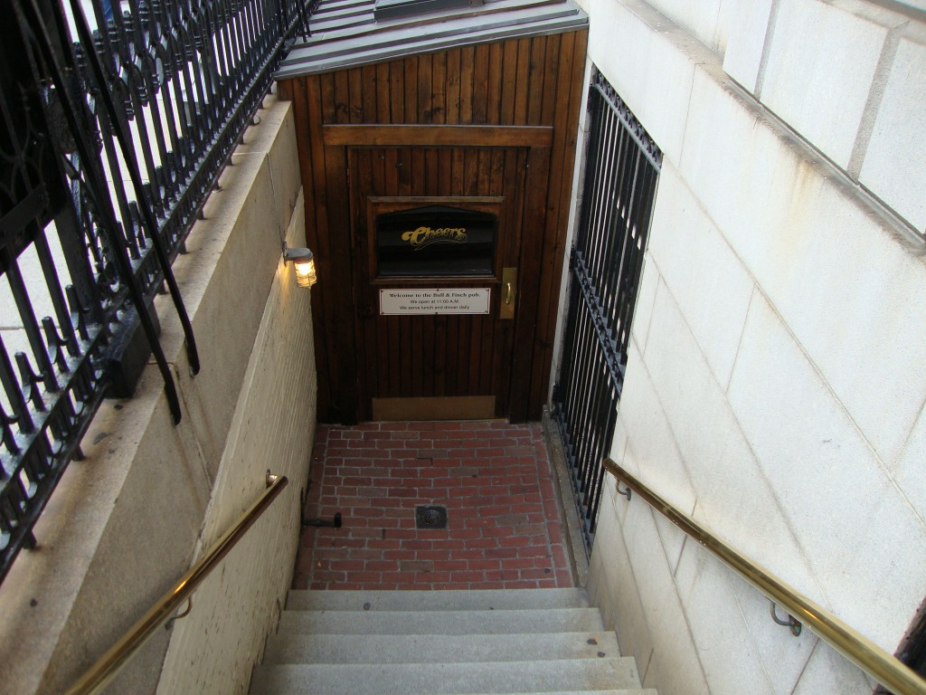 Entrance to Cheers
