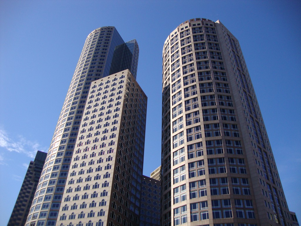 One & Two International Place at Financial District