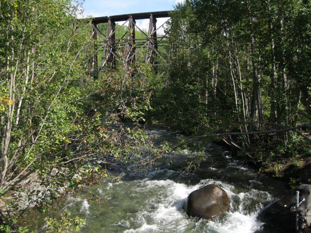Gilahina River and Gilahina Trestle