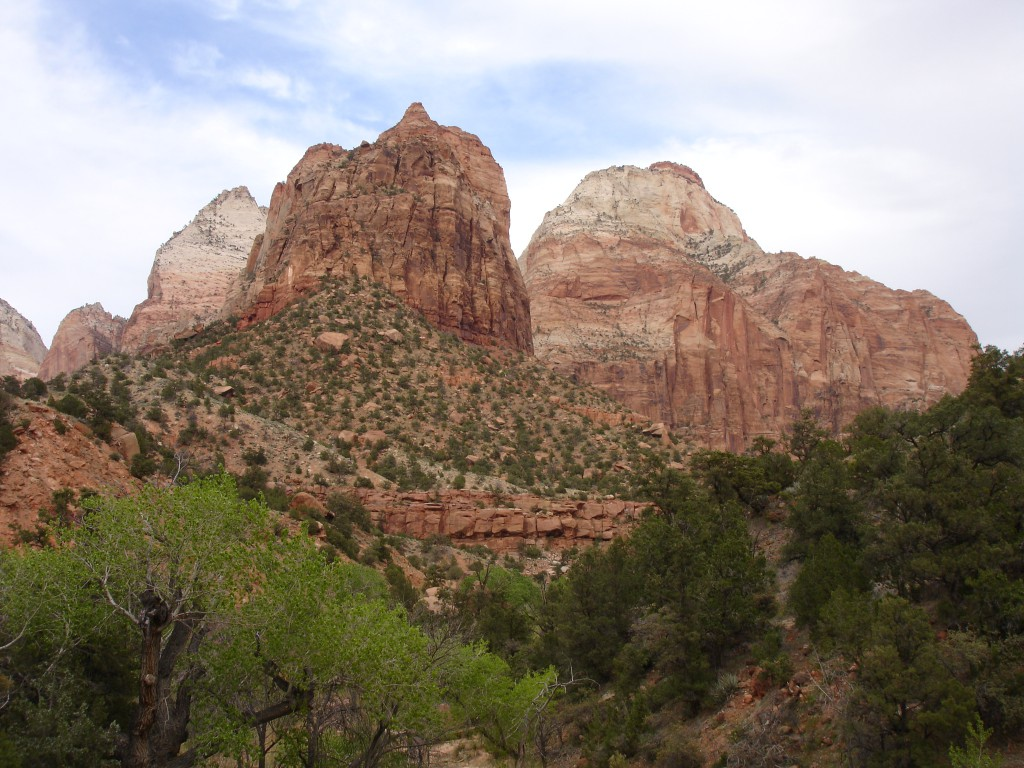 Rock Formations at the Virgin River