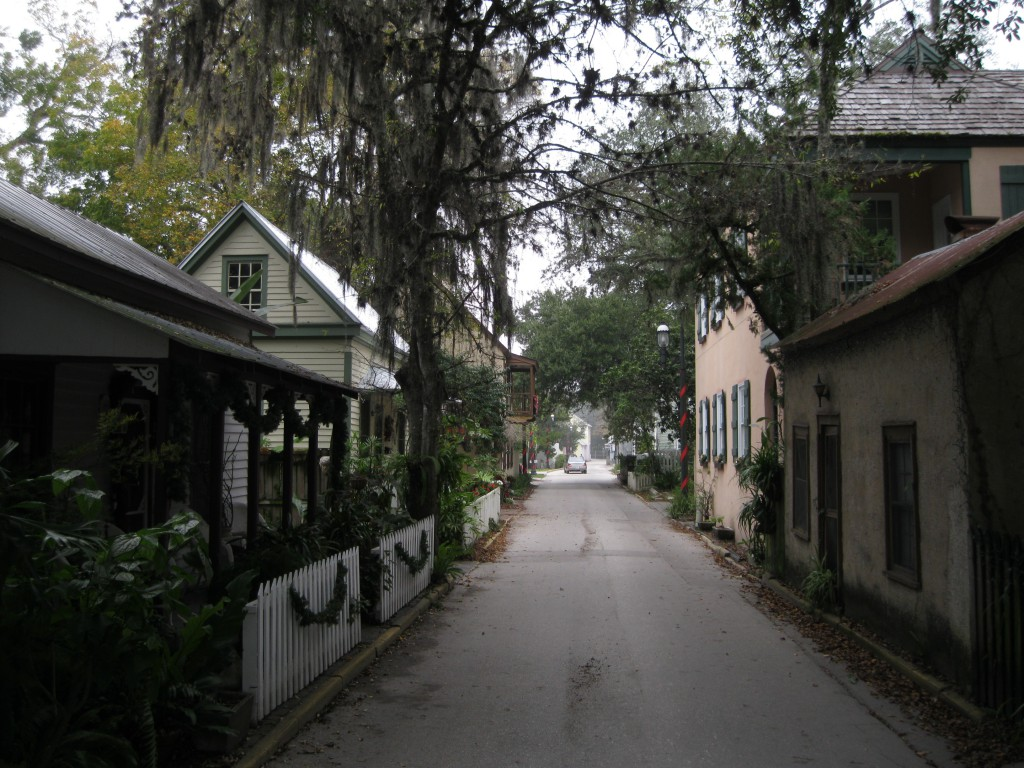 Historic buildings on Cuna Street