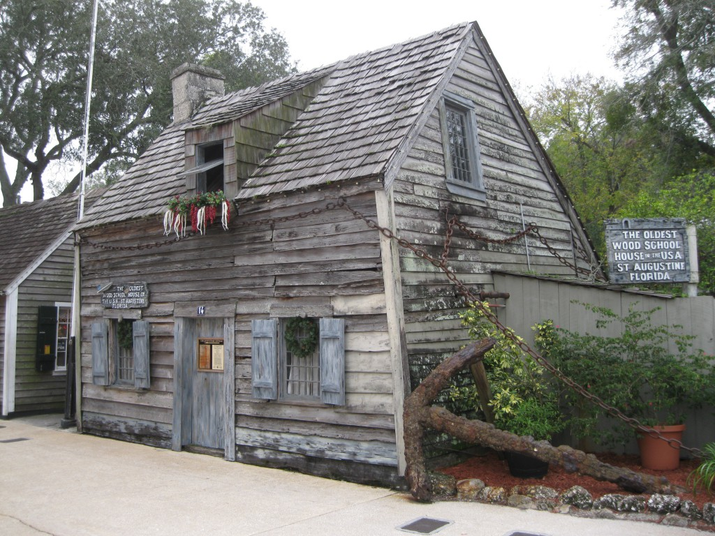 The Oldest Wood School House in the USA