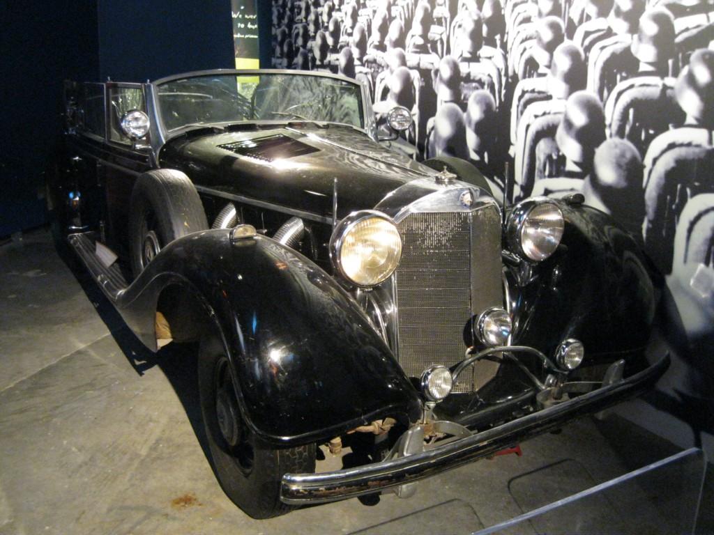 Hitler's Car at the Canadian War Museum