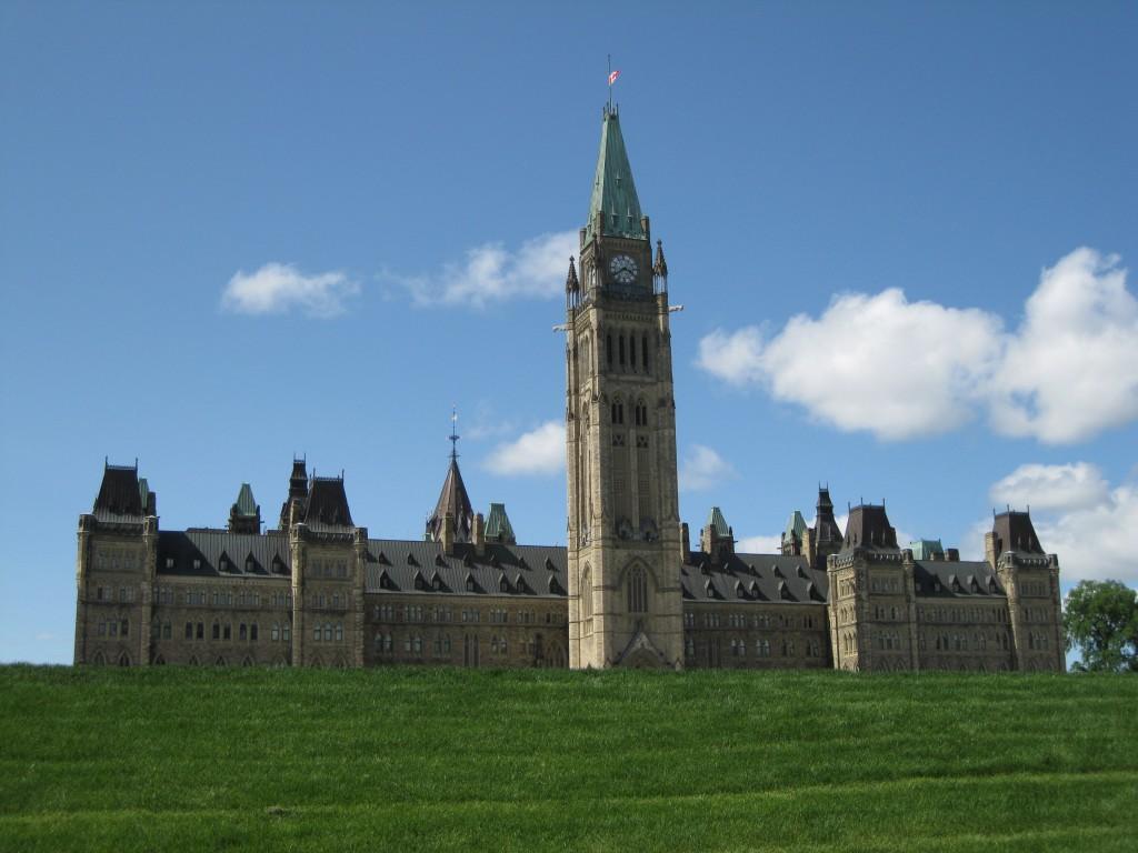 Centre Block on Parliament  Hill