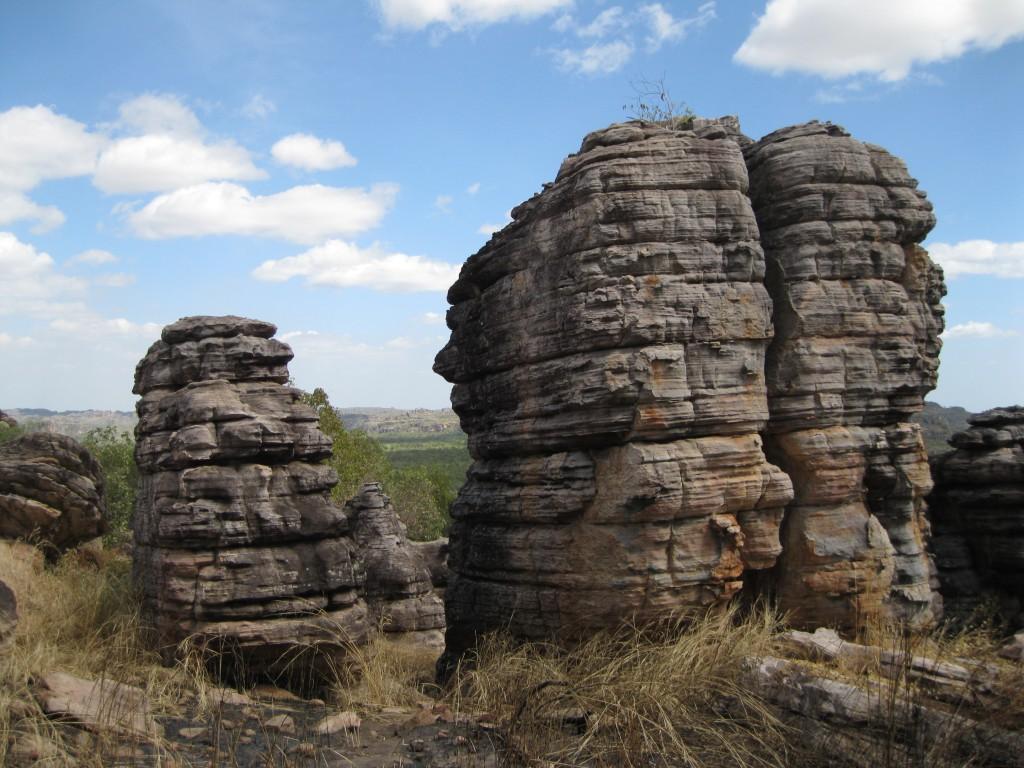 Rock pinnacles on Injalak Hill