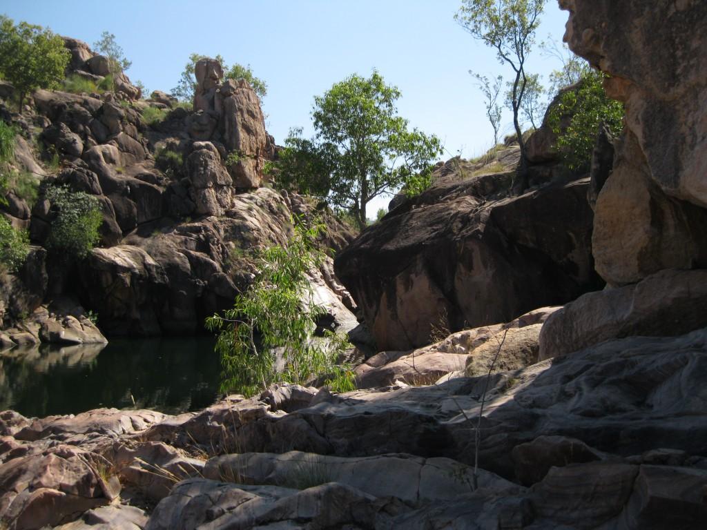 Waterfall Creek at Gunlom