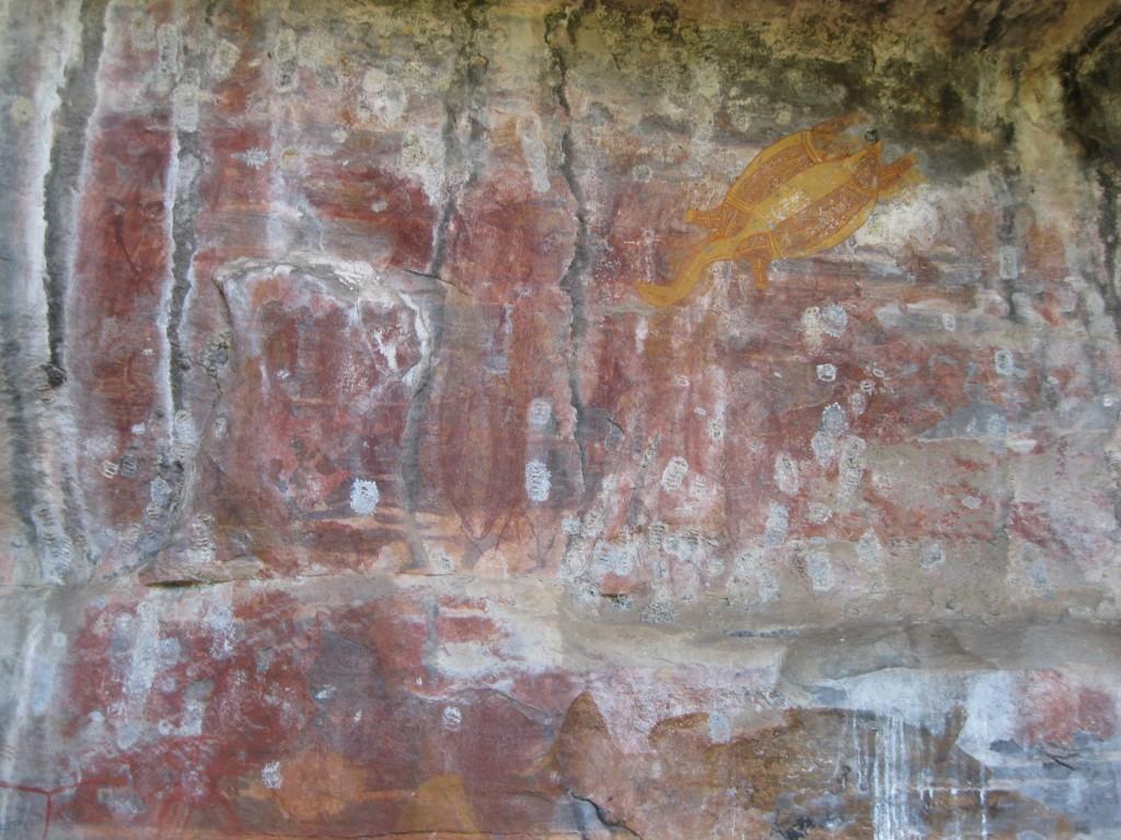 Aboriginal Rock Art at Ubirr