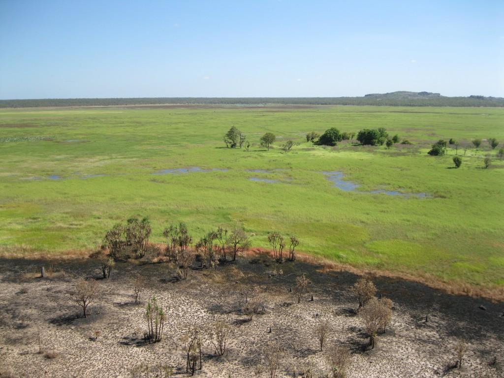 Floodplains as seen from Ubirr Rock