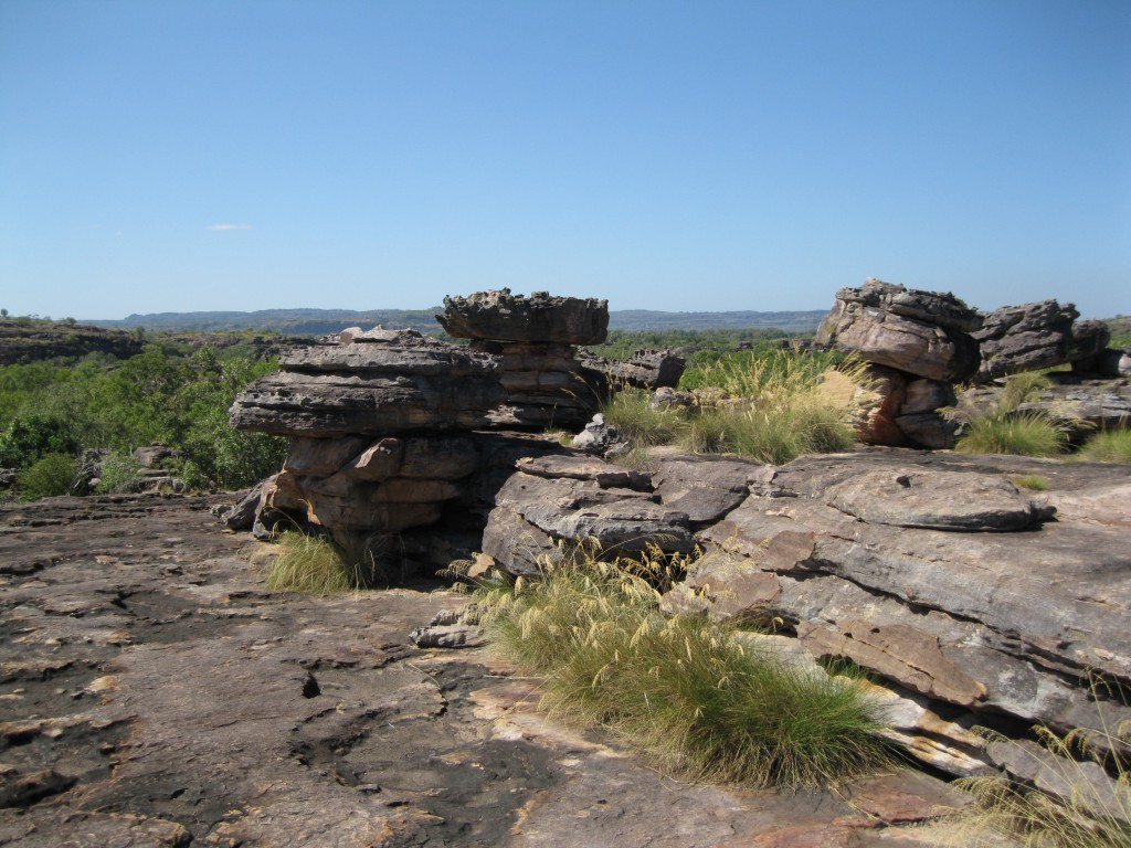 On the top of Ubirr Rock