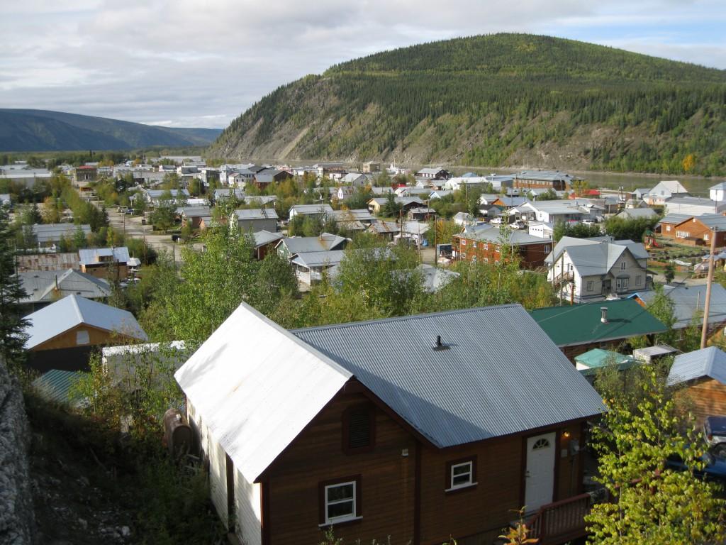 View of Dawson CIty