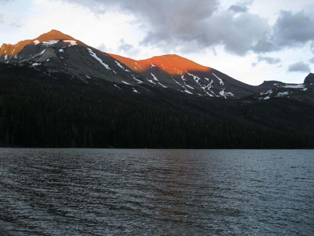 Sunset at Elizabeth Lake