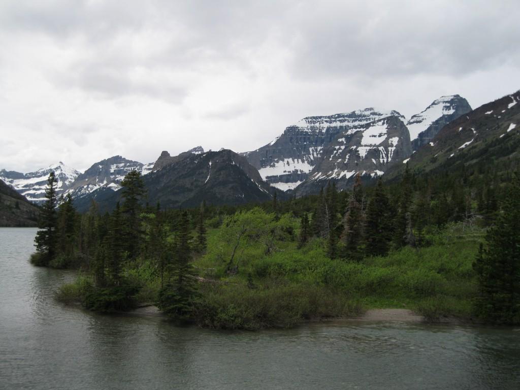 Approaching Cosley Lake