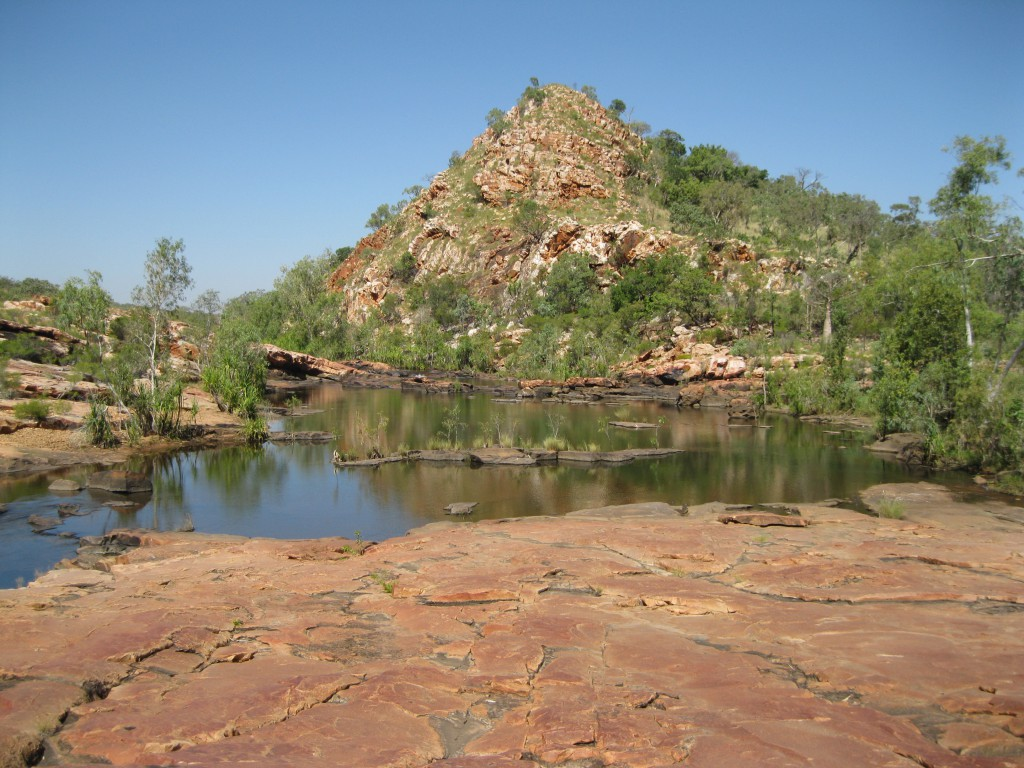 King Leopold Ranges Conservation Park Western Australia: belle creek