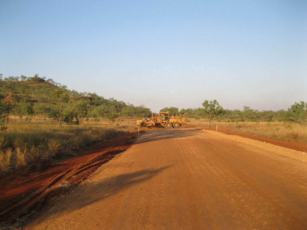 Road Works on the Gibb River Road