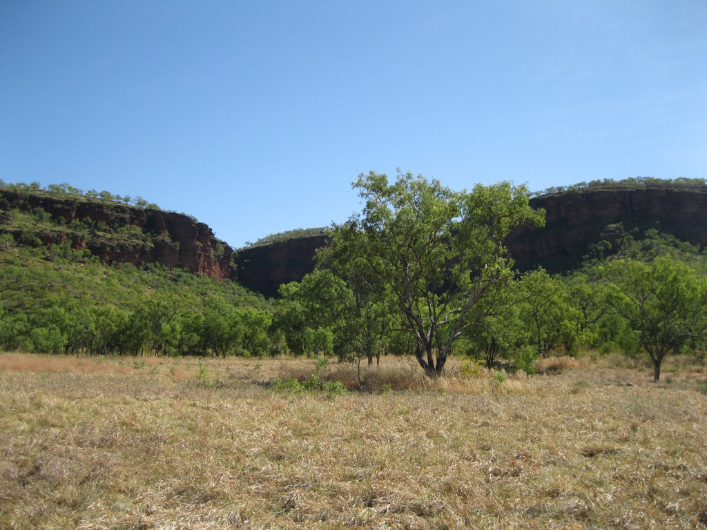 At the foot of the Escarpment