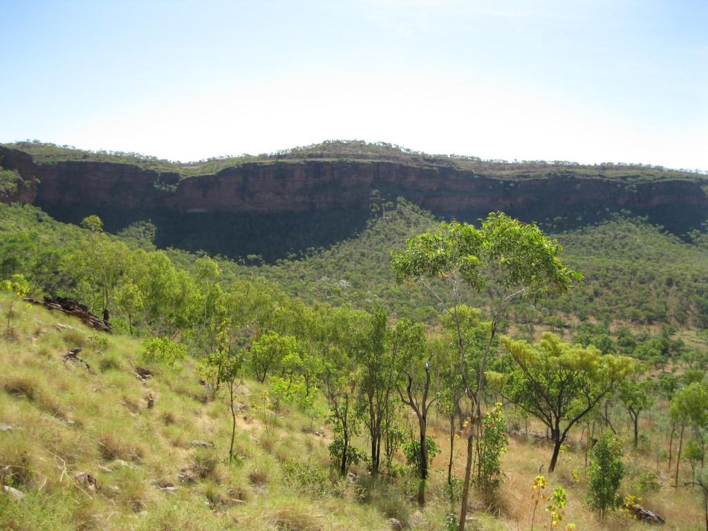 Surrounding Mountain Range as seen from the Escarpment Walk