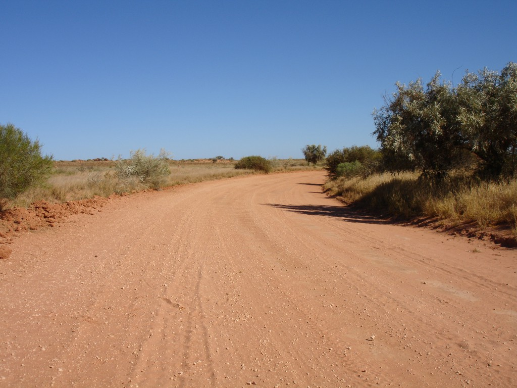 The road away from Shearer's Quarters