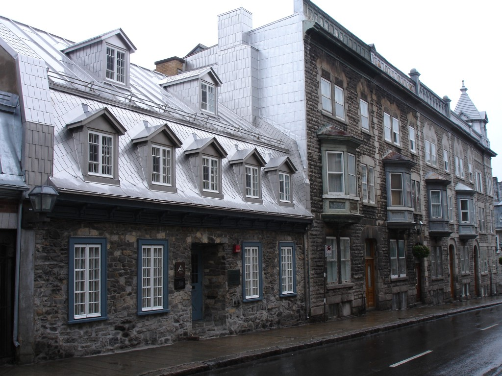 Upper Town in Old Quebec