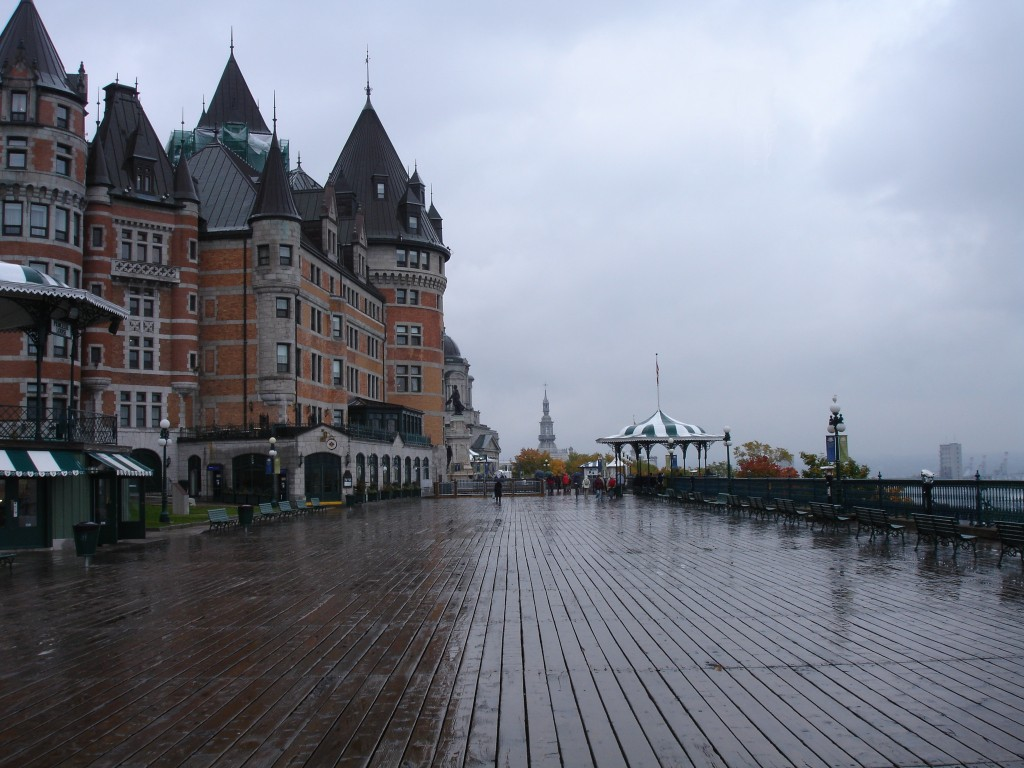 Château Frontenac and Dufferin Terrace