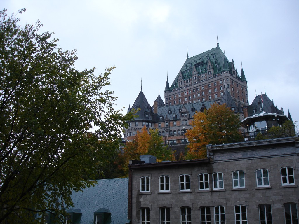 Château Frontenac and Lower Town
