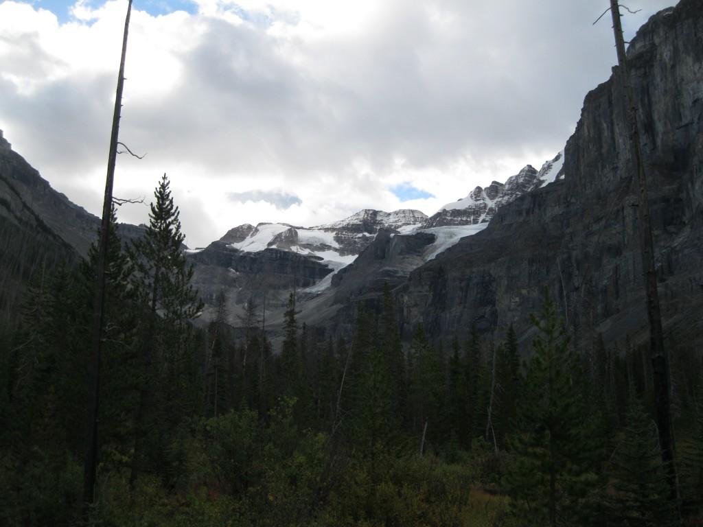 On the Stanley Glacier Trail looking towards Stanley Peak