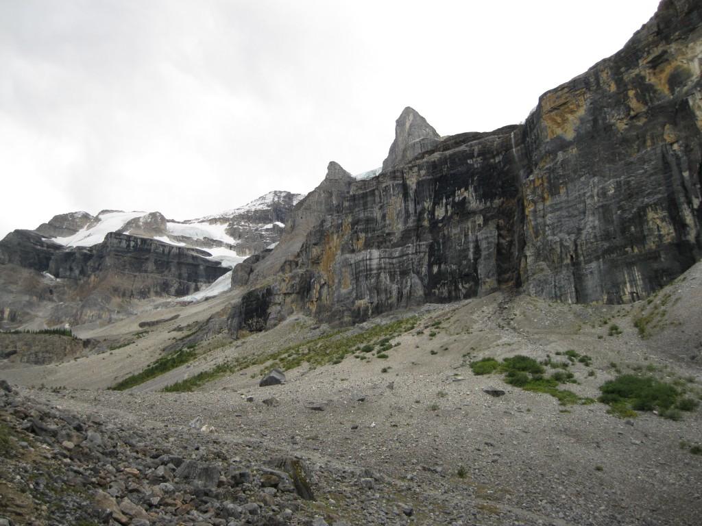 Rock Wall fronting Stanley Peak