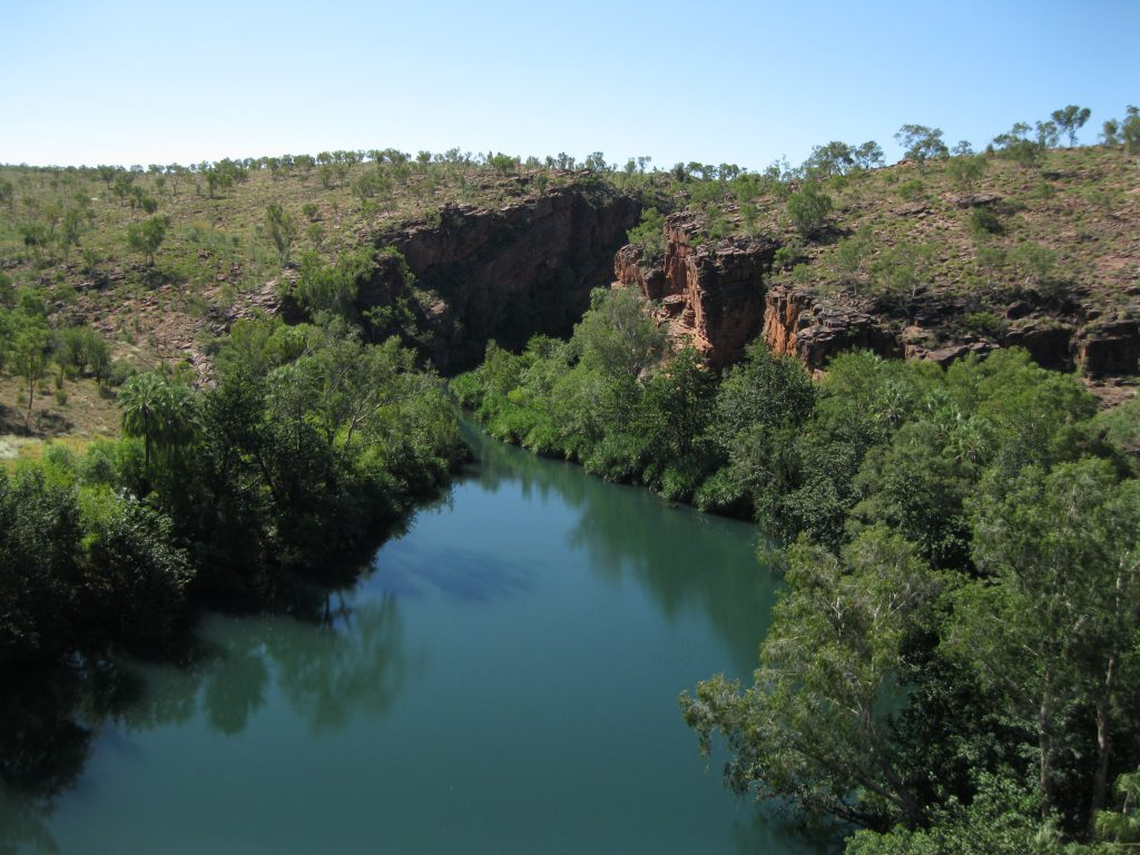 The Middle Gorge at the Upper and Middle Gorge Lookout